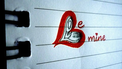 Be mine (harp92) Tags: new red love beautiful writing handwriting book mine sara heart drawing creative note saudi iloveyou loveyou ksa bemine    2011            flickraward almalki harp92 saraalmalki new2011 2011
