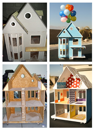 before/after dream dollhouse