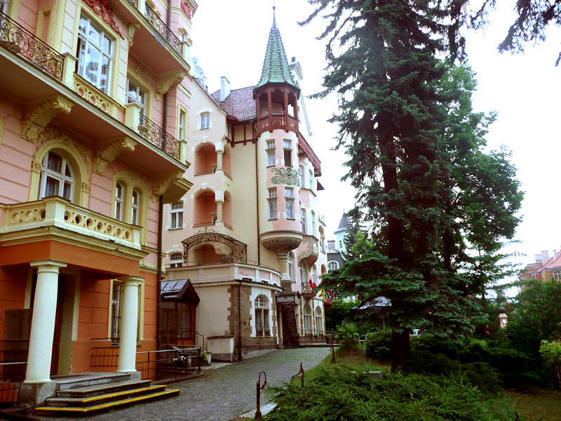 Hotel in Karlovy Vary, Smetana-Vysehrad 4* - Garden