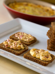 Served up on mini rye bread (Brown Eyed Baker) Tags: food recipes