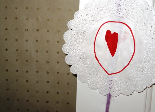 handmade hearts...