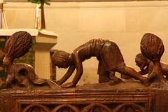 IMG_2050 (Babak.r) Tags: wood sculpture lund church skne cathedral sweden skulptur sverige scania domkyrkan tr scane