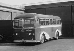 Ex Highland A1 KST50 Inverness (Guy Arab UF) Tags: bus ex buses nimbus highland depot a1 1956 alexander sutherland inverness albion glenbrittle portnalong omnibuses needlefield mr9l kst50