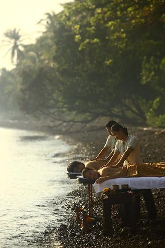 Couple spa at Spa Village Resort, Tembok Bali