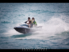 Jet Ski (Shabbir Ferdous) Tags: sea sky people cloud color colour landscape thailand boat photographer action bue jetski pattaya bangladeshi travelphoto ef70200mmf28lisusm banglamung shabbirferdous canoneos1dmarkiv wwwshabbirferdouscom shabbirferdouscom