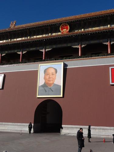 毛澤東像好像都不會壞一樣