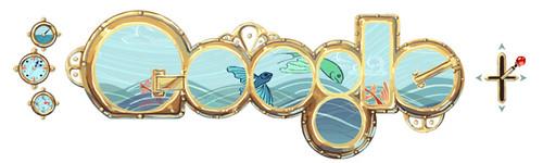 Google Doodle Jules Verne