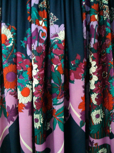 Floral Patterned Dress (detail)