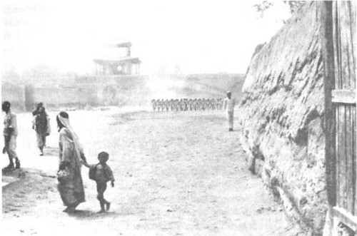 Chinese Muslim soldiers Drill in Khotan by MaJiaJun