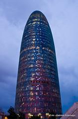 BARCELONA TORRE AGBAR (Gabriele Ardemagni) Tags: barcelona spain torre espana catalunya spagna agbar