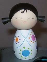 momiji kokeshi doll