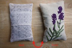 Step 6: Place Lavender into Satchel