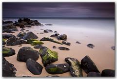 Low Tide at the NP (Adam Randell) Tags: ocean longexposure water canon dark early sand rocks noosa noosanationalpark gympie 50d singhray adamrandell