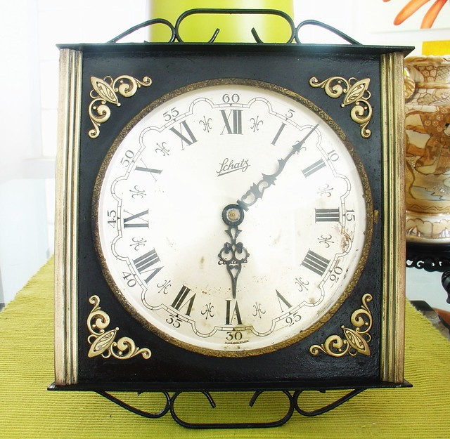 Antique Wall Clock Schatz Elexacta Regulator 1930 Ebay