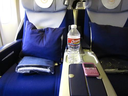 my seat to Frankfurt