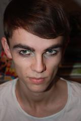 Luke 050211 (dgrendon) Tags: boy people face portraits luke makeup headshot dressedup headingout canon450d