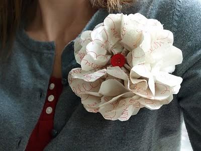 love letter corsage