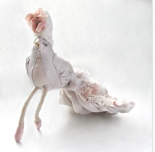 Ruffle Tailed Rococo Bird