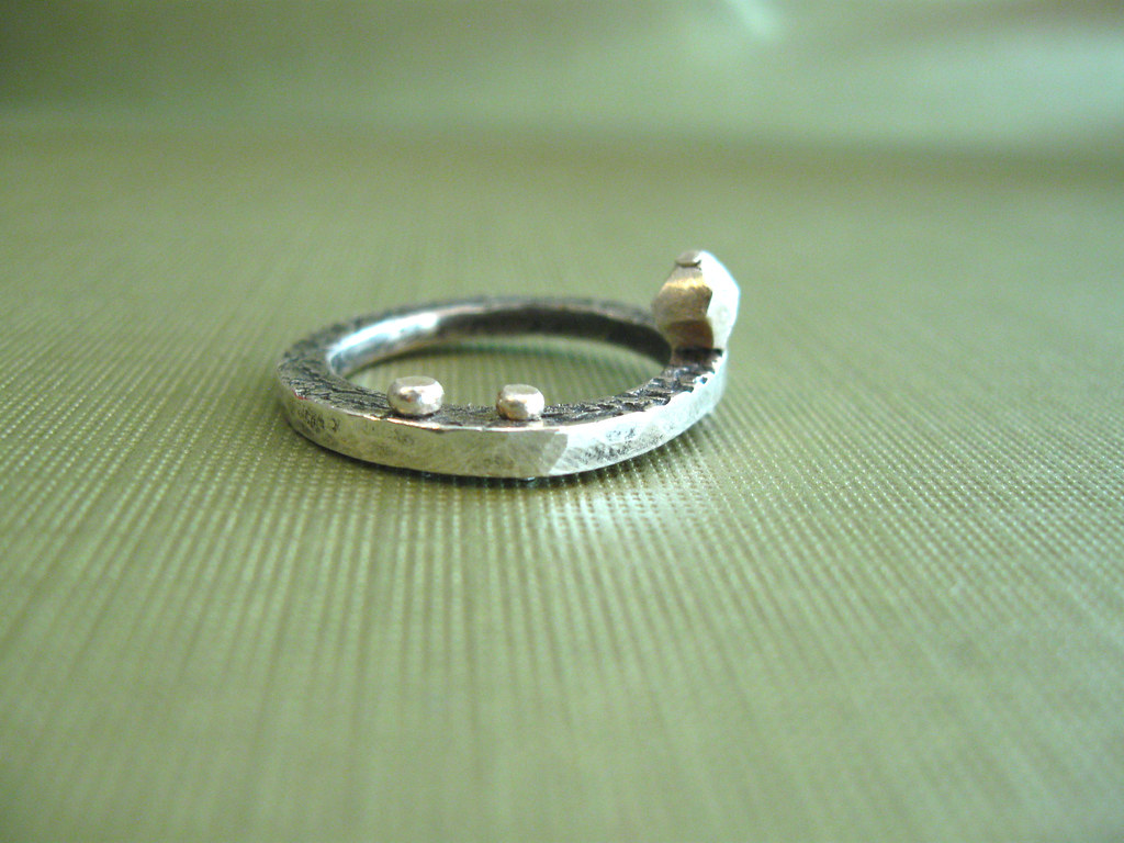 Silver Mining - Fine Silver Ring