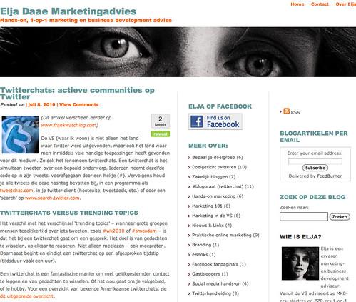 weblog Elja Daee