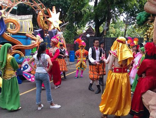 السياحة العائلية بأندونيسيا