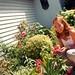 My garden & Lela 3