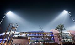 Home Of Cricket (Jisan Jahid) Tags: lighting sky home sports night photography nikon stadium country cricket host national vanue dhaka lense mirpur decoratio worldcup2011 jisanjahid bangladeshicc