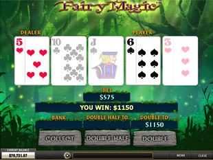 free Fairy Magic slot gamble feature