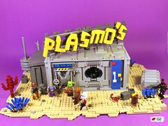Plasmo's (I Scream Clone) Tags: beer star pub lego scifi wars clone koon plo squiddie