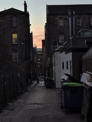 the evening remembers (werewegian) Tags: city evening alley dusk glasgow lane cobbles feb11 sauchiehall tallerthanitswide werewegian 2011year