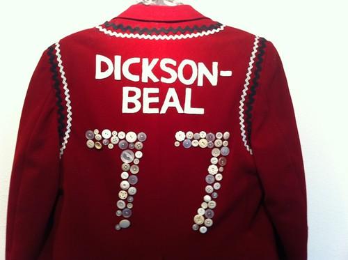 Back of the Blazer blazer