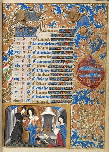 011- Ms. lat. 33- ©Genève, Bibliothèque de Genève- livre d'Heures à l'usage de Paris-f 2r