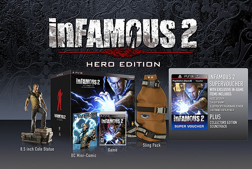 inFAMOUS 2 Release Date, Pre-Orders Bonus, and Hero Edition Details