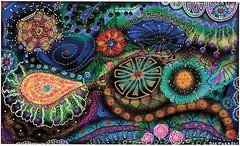 """ PROM NITE ON THE REEF "" (carolynboettner) Tags: doodle zentangle zendoodle"