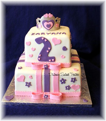 2nd Birthday Cakes For Girls