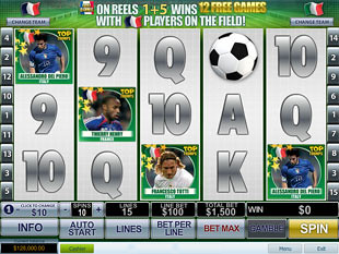 Top Trumps World Football Stars slot game online review