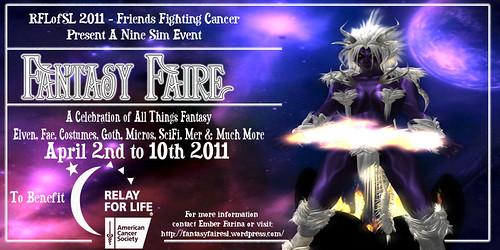 Fantasy Faire 2011 poster