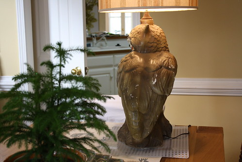 Owl Lamp Wing