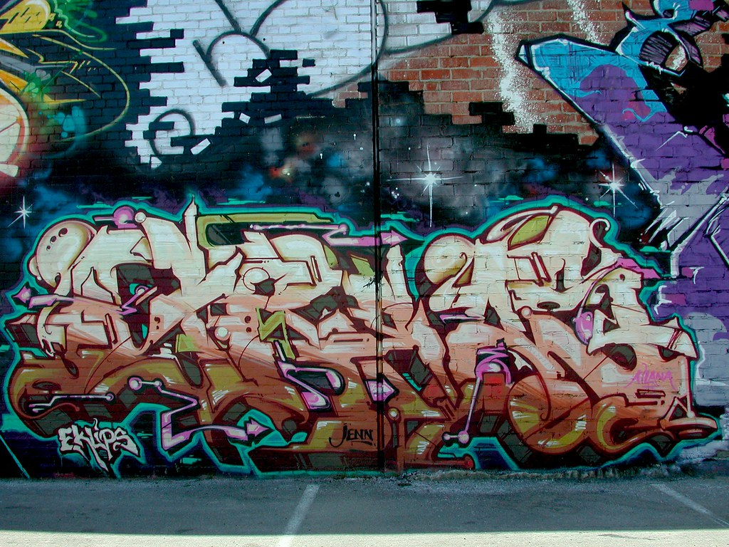 GREAS, MSK, LA, Street Art, Graffiti