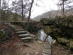 Roaring River State Park - Missouri (Adventurer Dustin Holmes) Tags: statepark stairs steps trails trail missouri stonesteps hikingtrail roaringriver stateparks stonestairs hikingtrails stonestaircase roaringrivertroutpark