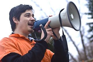 Anti-Torture Vigil - Week 37: Megaphone