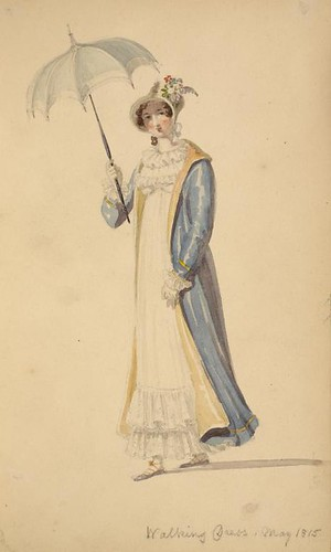 Walking Dress 1815 NYPL