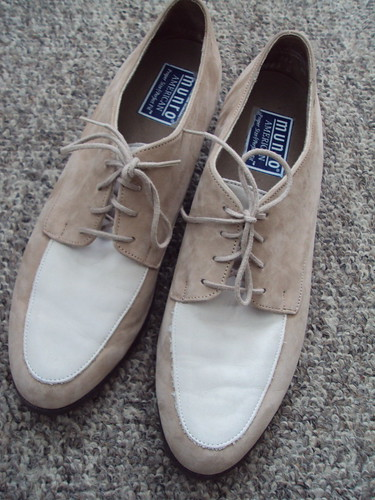 Suede Two Toned Oxfords