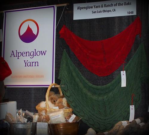 Flyleaf shawl at Alpenglow