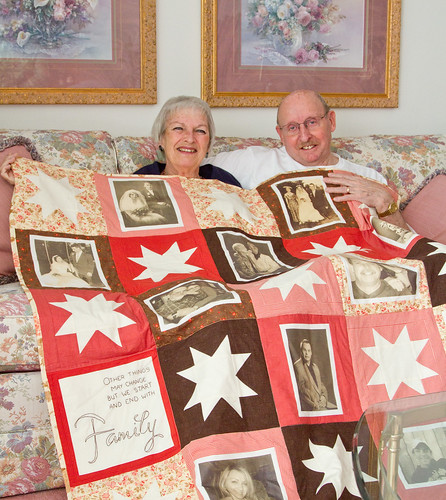 Family Quilt - Cuddle Demo