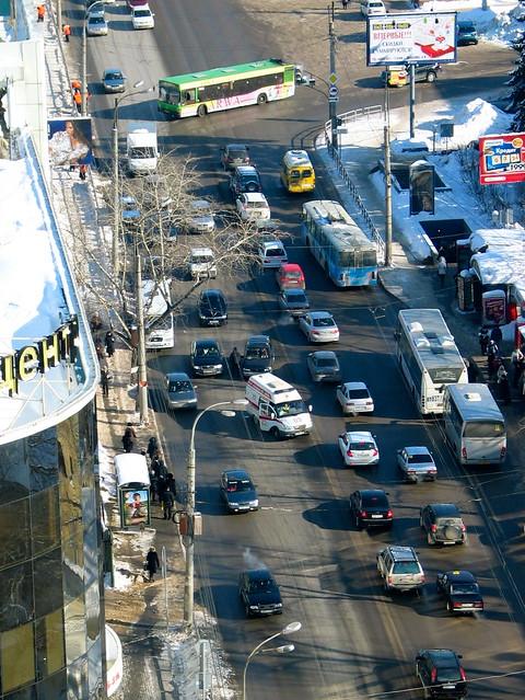 Сбили пешехода на Московском шоссе и Киевской