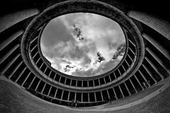 Palacio de Carlos V - HDR (Ender079) Tags: circle 21 carlos palace patio alhambra granada 500 510 hdr circulo 52 palacio 511 1exp peleng8mm35fisheye canoneos7d