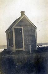Watch House on Gurnet, c. 1910 (Drew Archival Library) Tags: duxbury glassplatenegative facey wrightbuilding surplusstreet drewarchives