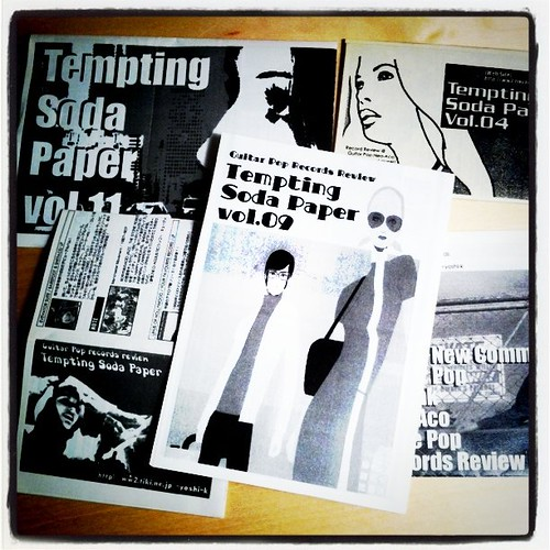 Fanzines that I had previously issued