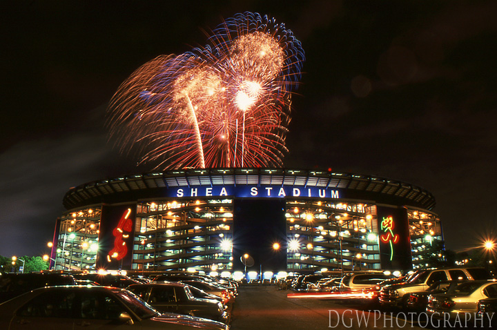 Fireworks Night at Shea Stadium - July 4, 2001